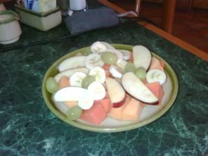 Plato de Fruta ($38)