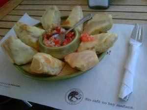 Molletes, Café La Selva