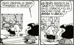 Mafalda, Norte y Sur