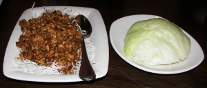 Chicken Lettuce Wraps - PF Changs
